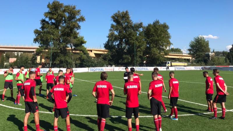 Shqipëria U20 e gjitha nga Superiorja, tek U19 spikasin edhe prurje nga Italia
