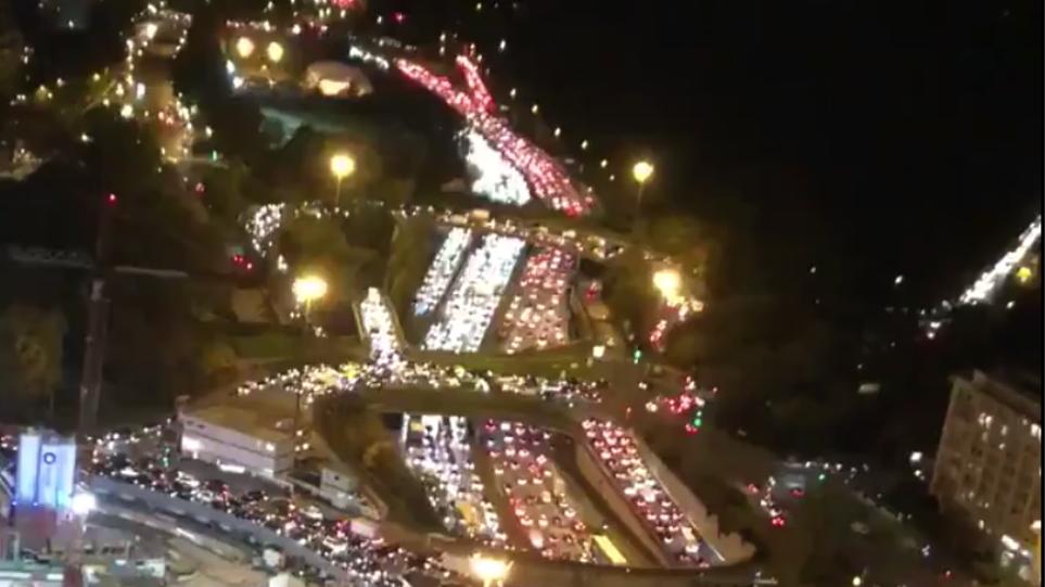 """Kaos dhe trafik i madh në Paris: Ku po """"arratisen"""" kryeqytetasit"""