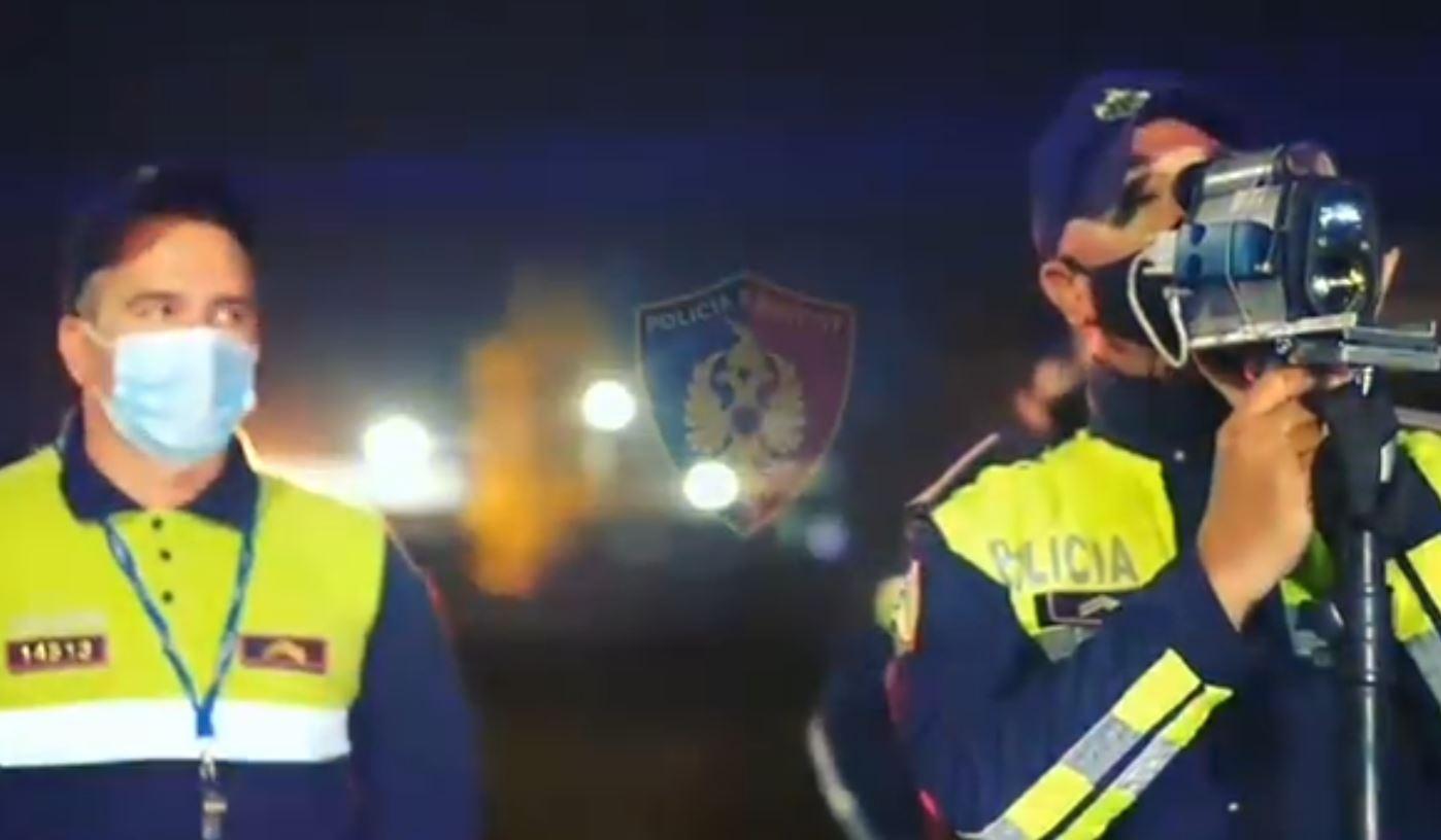 Me shpejtësi skëterrë në autostradën Tiranë-Durrës, policia heq 11 patenta