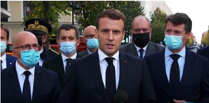 Macron shkon në vendin e masakrës: 7 mijë ushtarë do të ruajnë shkollat