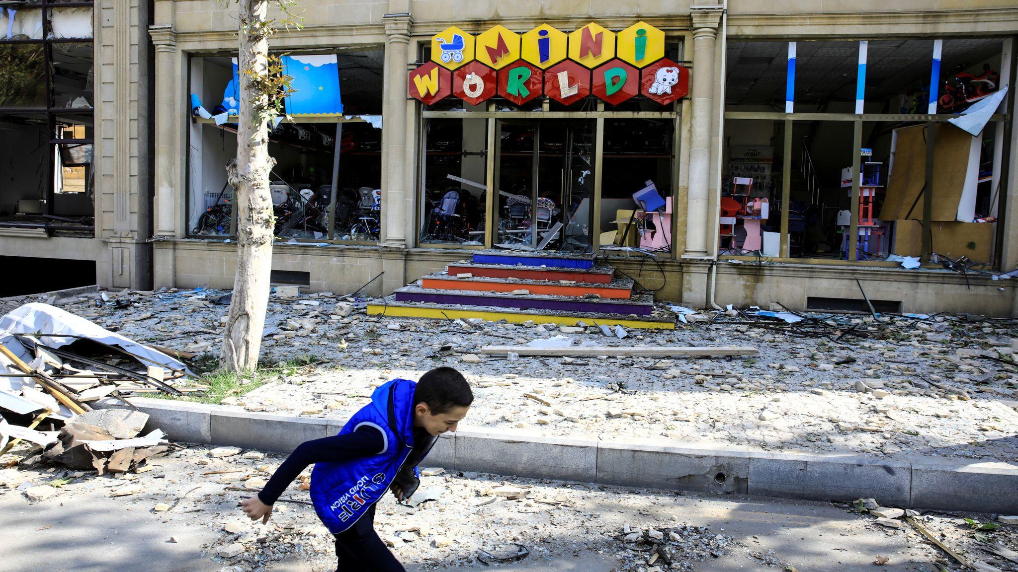 Azerbajxhani sulmon bazën e lëshimit të raketave në Armeni