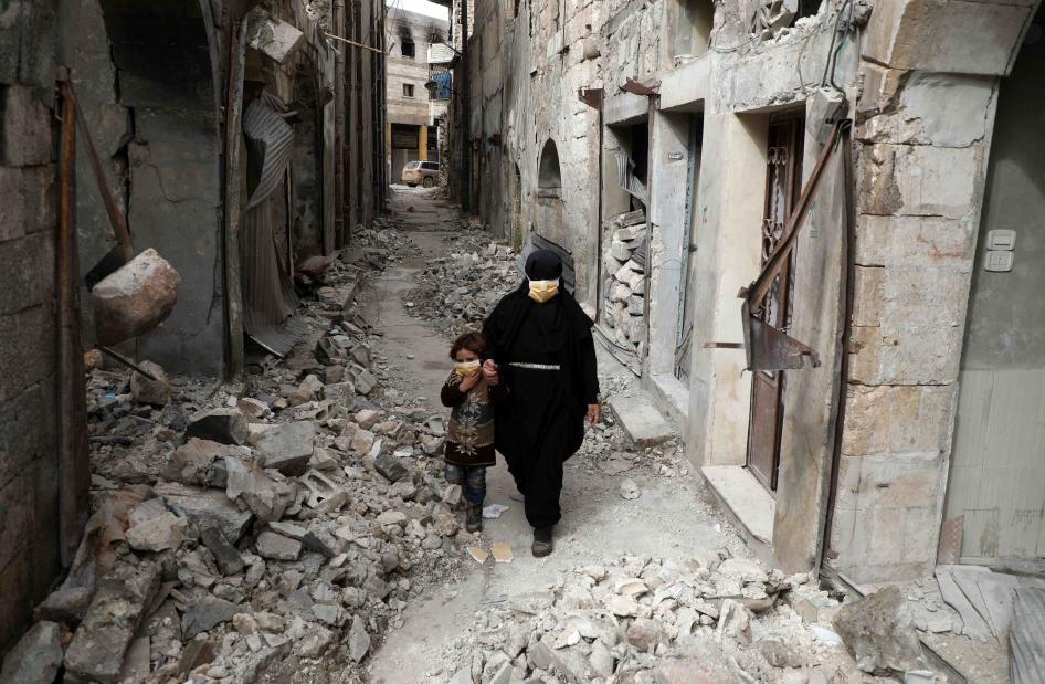 HRW: Regjimi i Bashar Al-Assadit dhe Rusia kryen krime lufte në Idlib