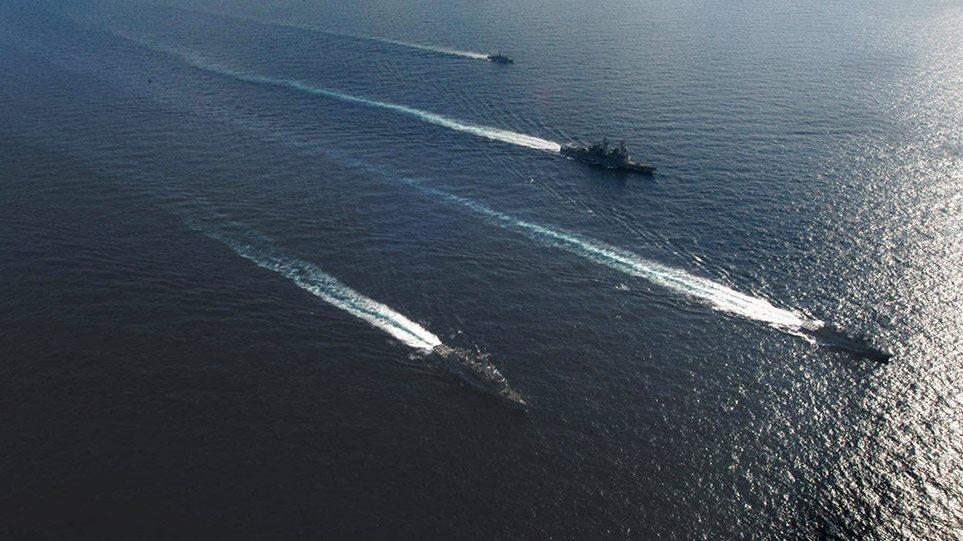 Flota turke bën lëvizjen e radhës në det, Forcat e Armatosura greke në gatishmëri