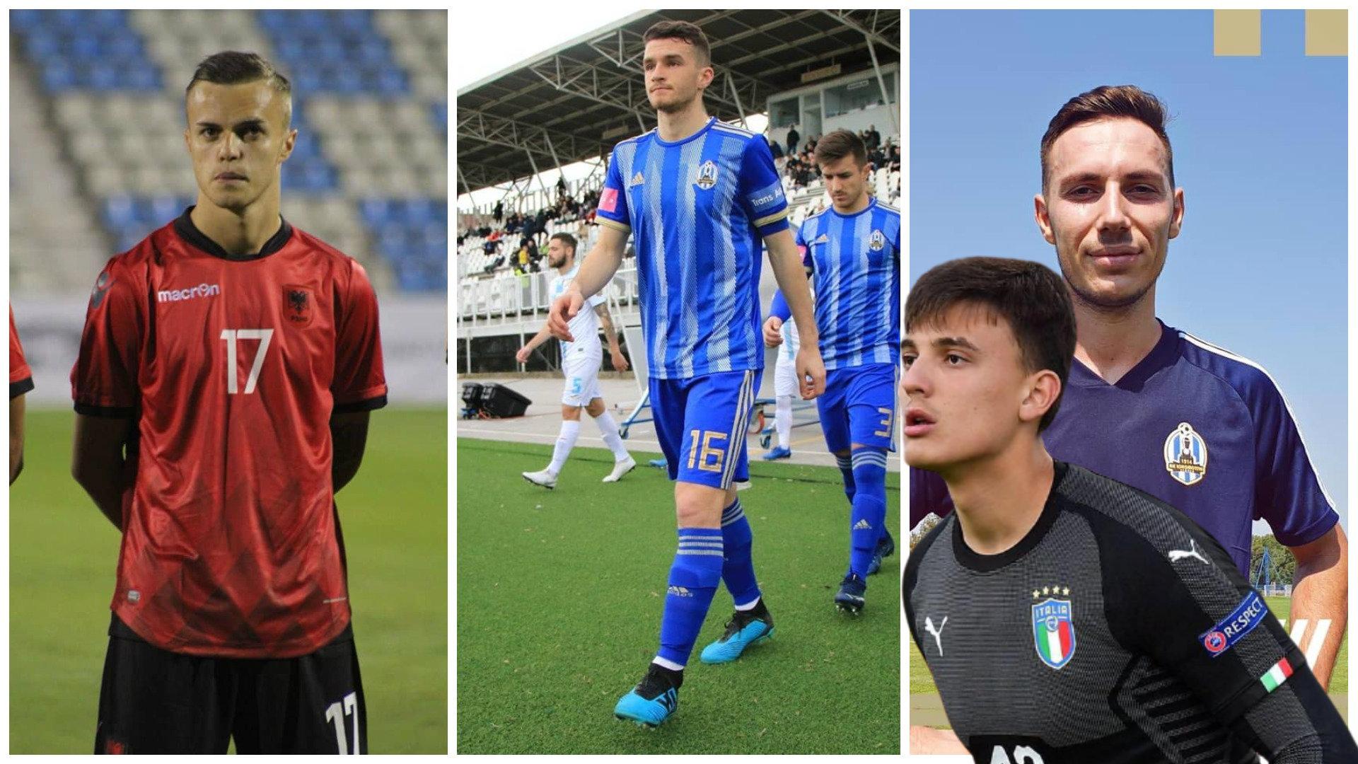 Debutues të shumtë te Shqipëria, Reja i merr një portier Italisë