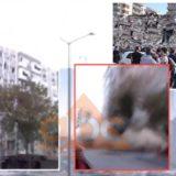 VIDEO/ E frikshme, momenti kur rrëzohet pallati pas tërmetit në Turqi