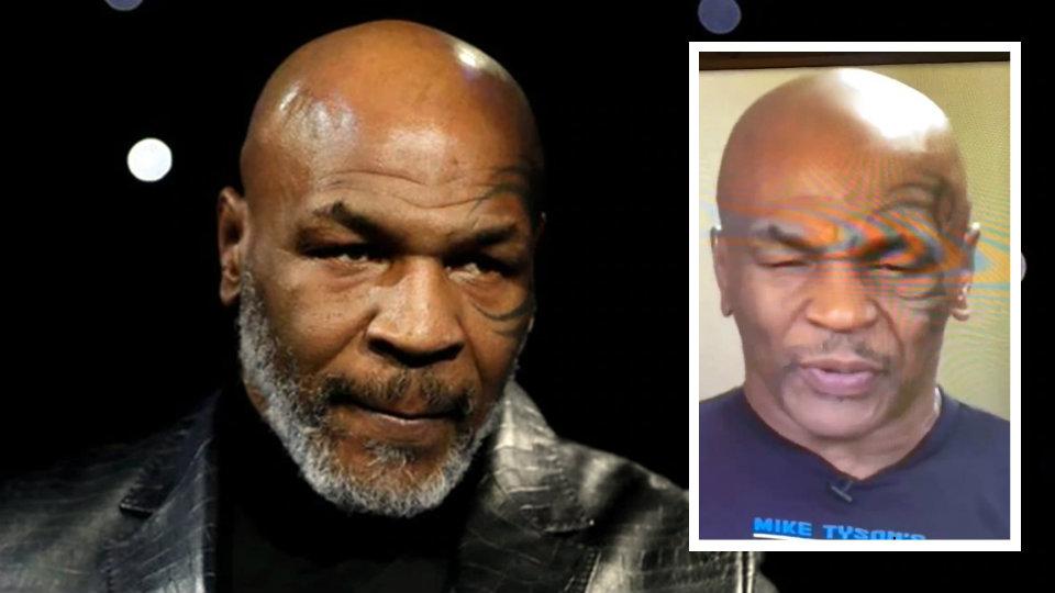 """VIDEO/ Habiten fansat, Mike Tyson për pak e zë gjumi në emision """"live"""""""