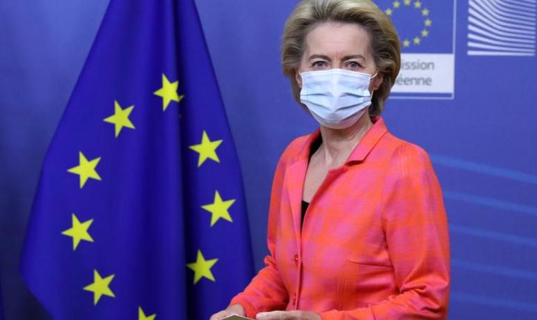 Pati kontakt me një të infektuar, presidentja e KE largohet nga samiti i Bashkimit Evropian