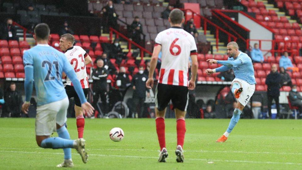 VIDEO/ Walker mjafton kundër Sheffield, Manchester City rikthehet te fitorja
