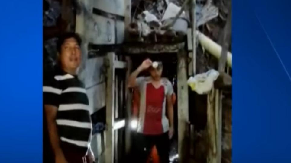 Shpëtohen mrekullisht 14 persona, ishin bllokuar në minierën e arit