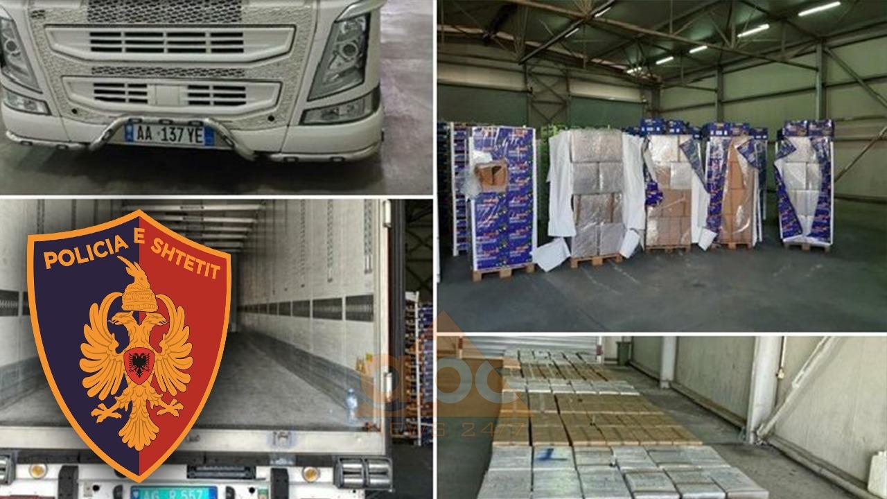 2 ton kanabis në kamionin me perime nga Shqipëria, reagon policia