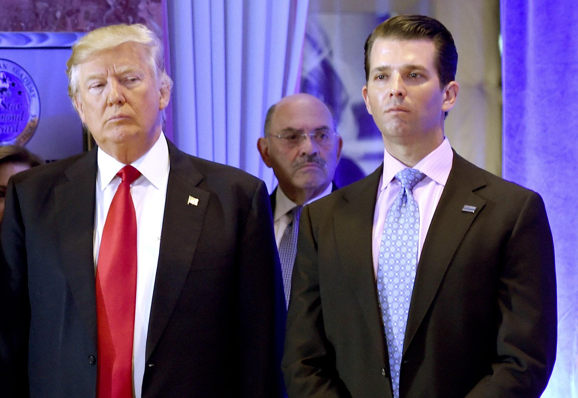 Djali i madh i Donald Trump rezulton pozitiv me koronavirus