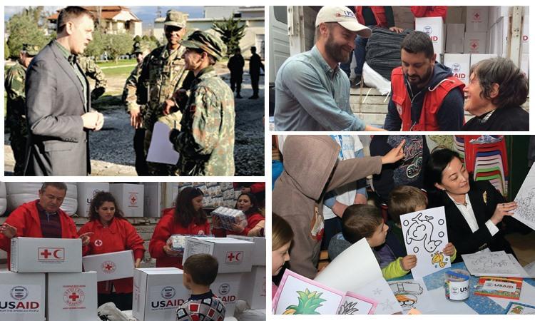 Ambasada e SHBA në 1-vjetorin e tërmetit tragjik: Treguat forcë të jashtëzakonshme!