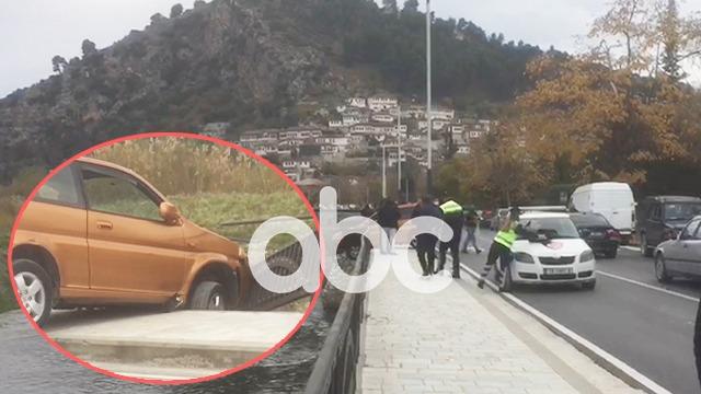 Humbi kontrollin e mjetit, shoferi në Berat për pak sa nuk përfundon në Osum