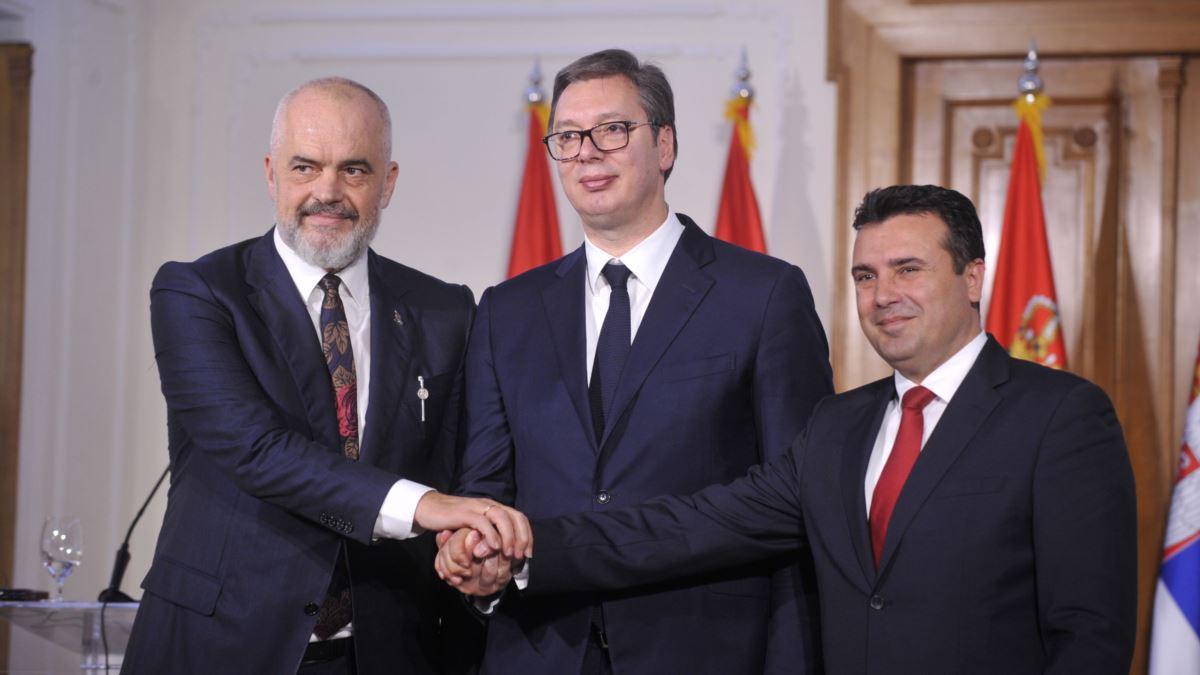 Vuçiç, Rama dhe Zaev nënshkruajnë sot marrëveshje