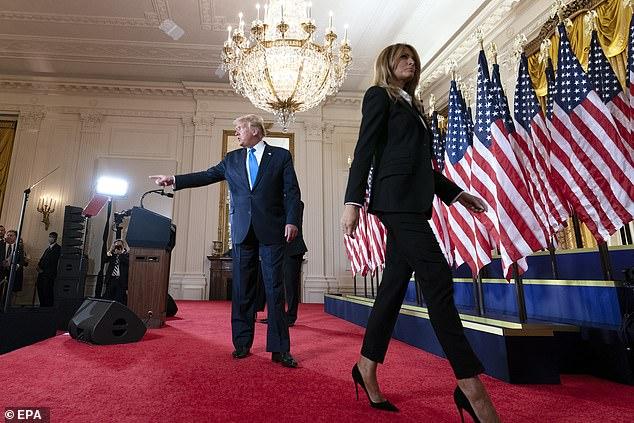 """""""Melania po bën gati valixhet"""": Pas zgjedhjeve, Trump mund të humbasë edhe gruan"""