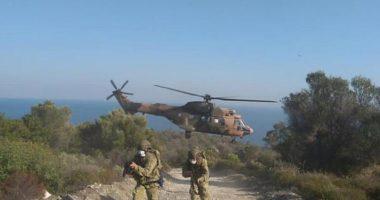 """FOTO/ Helikopterë, anije dhe forca speciale: Turqia """"pushton"""" ishullin në Egje"""