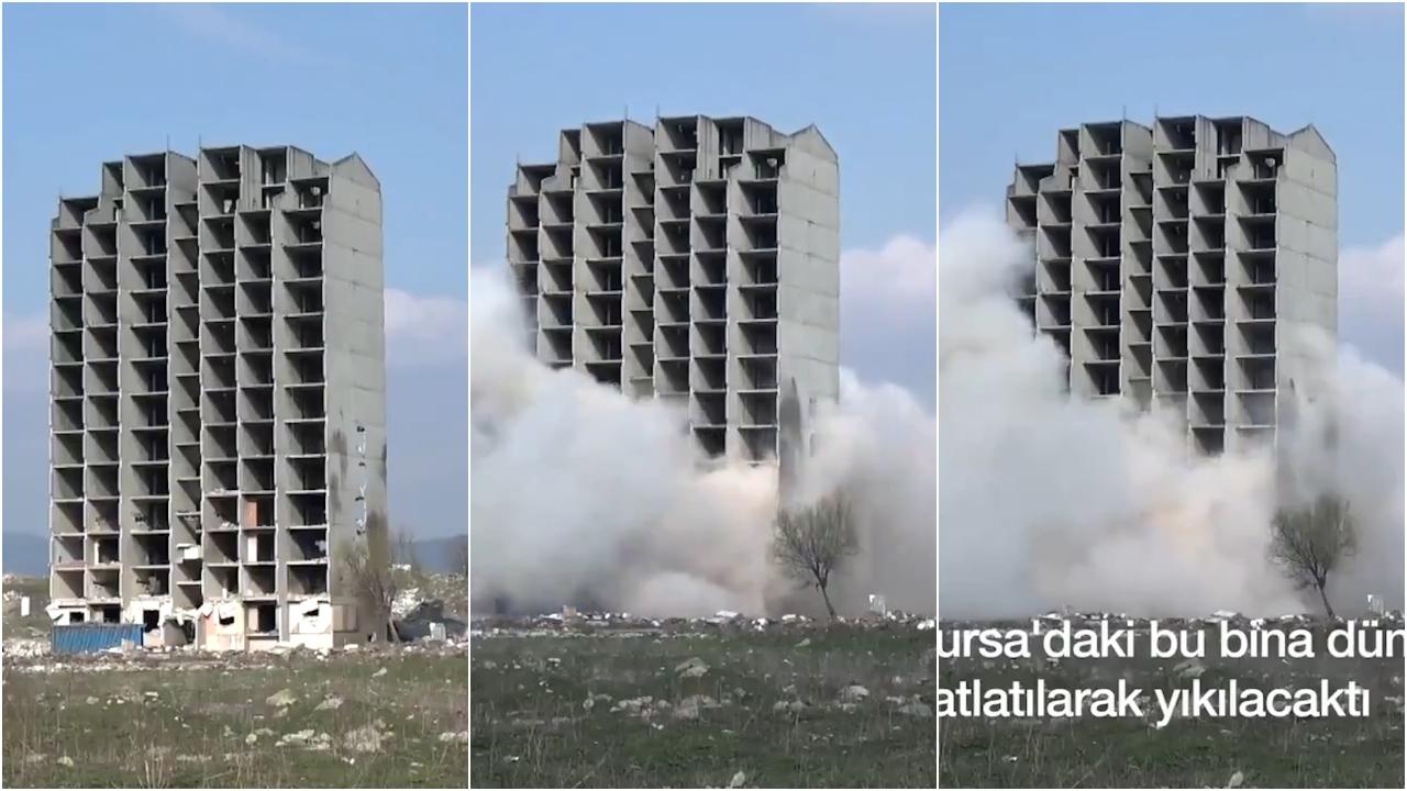 260 kg dinamit, por kjo ndërtesë mbeti në këmbë: Pamjet nga Turqia bëjnë xhiron e rrjetit