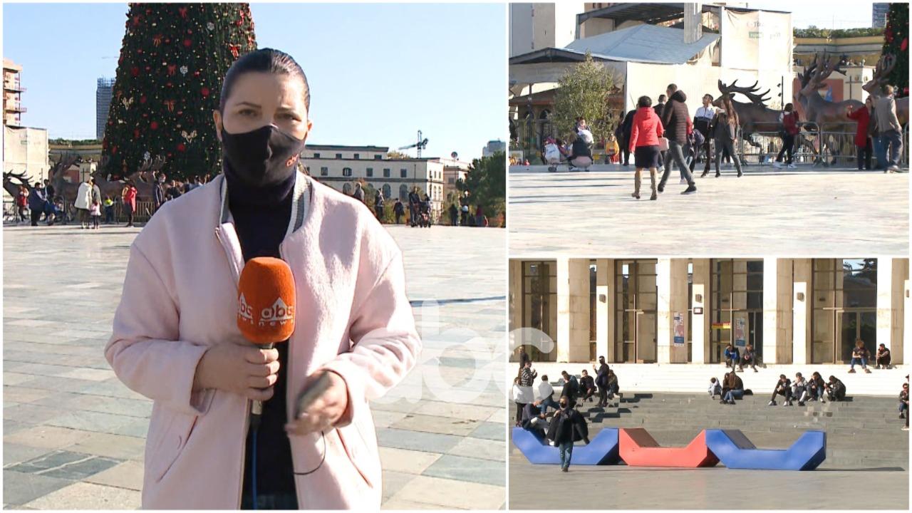 Qytetarët sfidojnë koronavirusin, grumbullime të mëdha në Tiranë