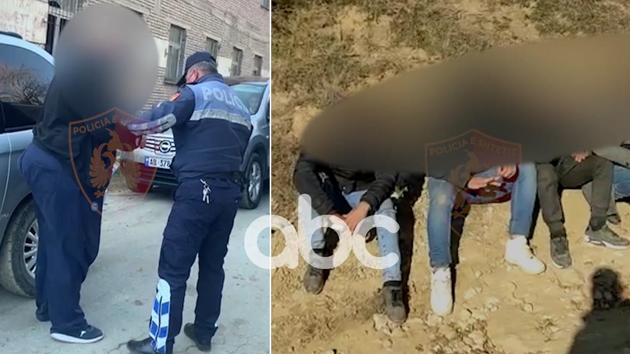 U kapën duke transportuar 6 emigrantë të paligjshëm, 4 të arrestuar në Korçë