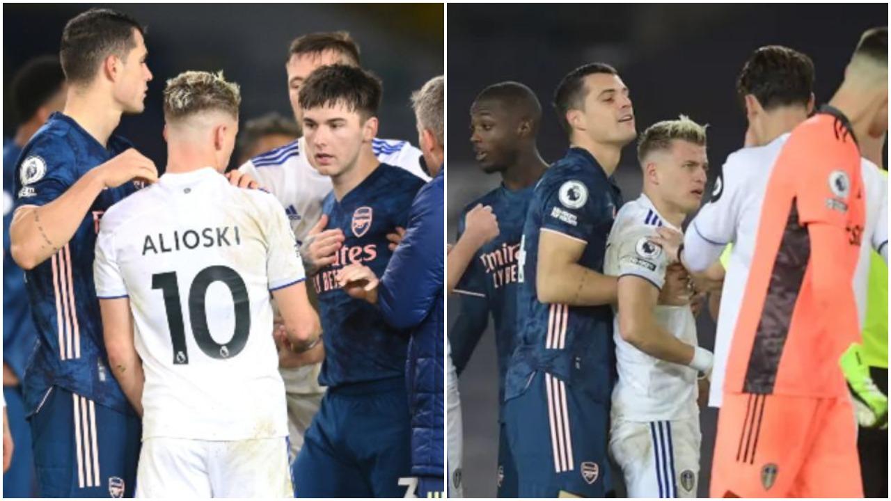 """VIDEO/ """"Mos e prek shqiptarin tim"""", Xhaka shtyn shokun dhe eviton përplasjen"""