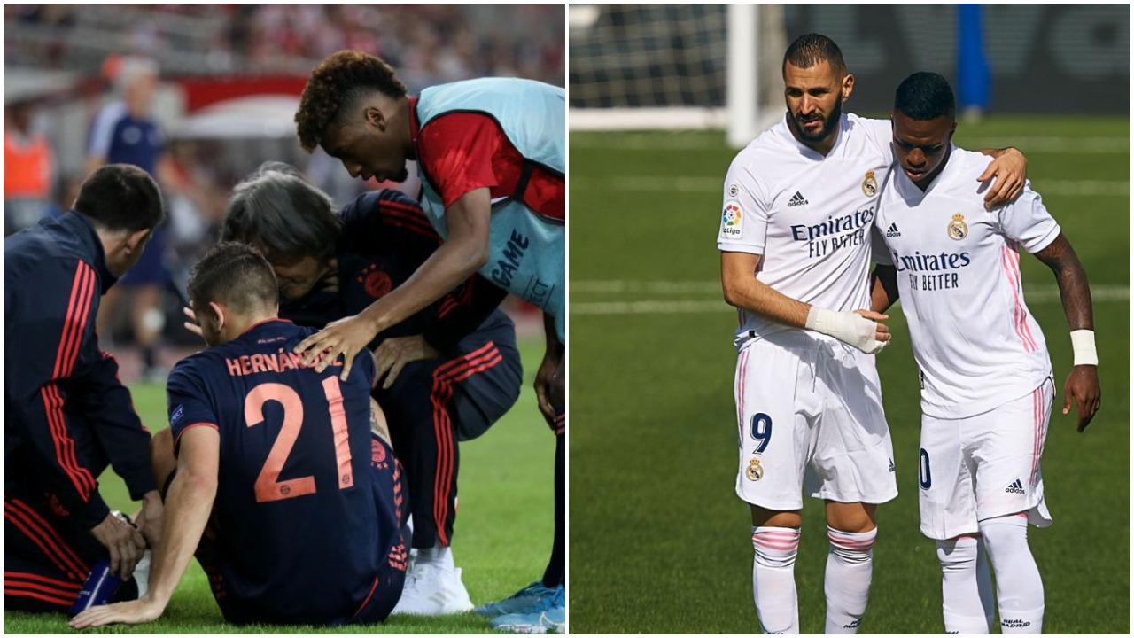 Probleme dëmtimesh te Bayerni dhe Reali, dy dilema për sfidat e Champions