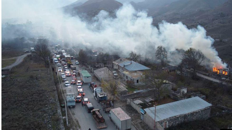 Azerbajxhani merr rajonin e radhës në Nagorno-Karabakh, pas marrëveshjes me Armeninë