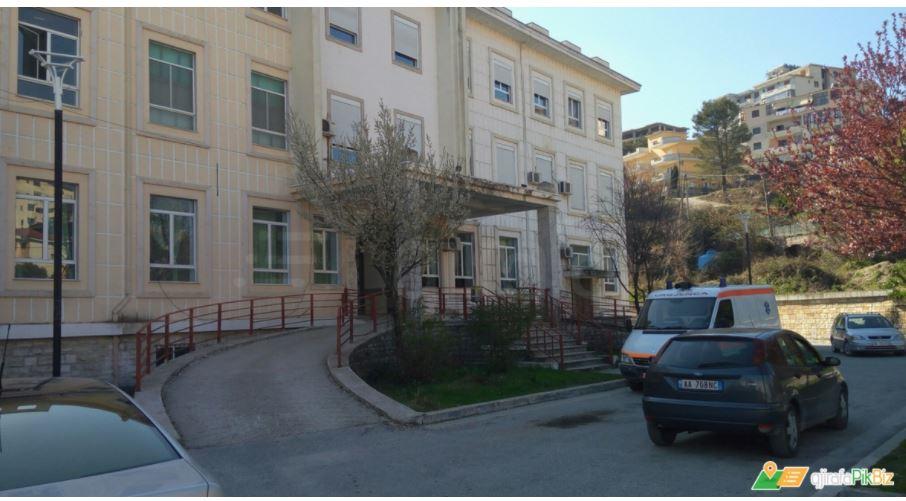 Gjirokastra hospital with Covid emergency daily service