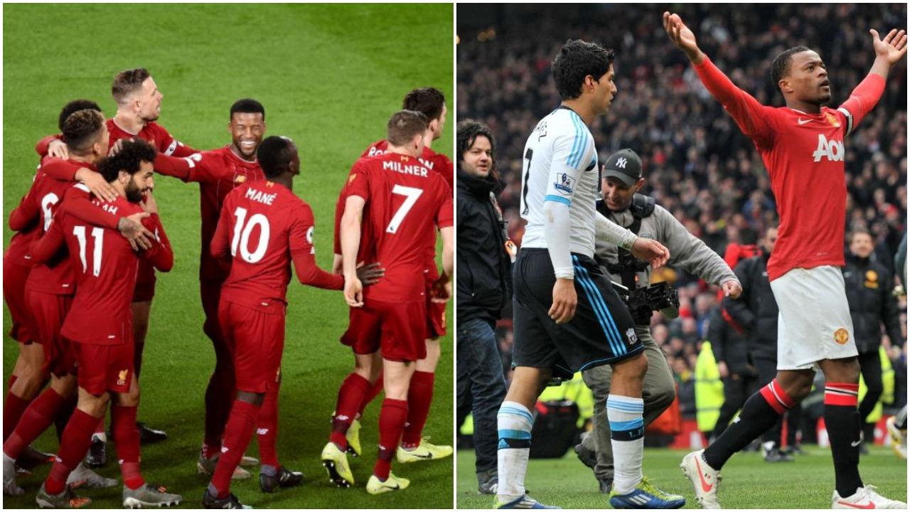 """Evra thumbon """"armiqtë"""": Qetësohuni, Liverpool nuk është akoma ekip i madh"""
