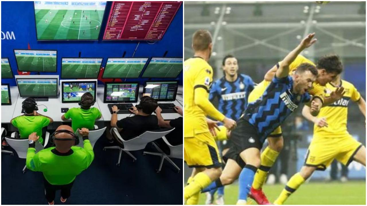 """""""Boll luajtën me letra në dhomat e VAR-it, Interit iu mohua penallti sade"""""""