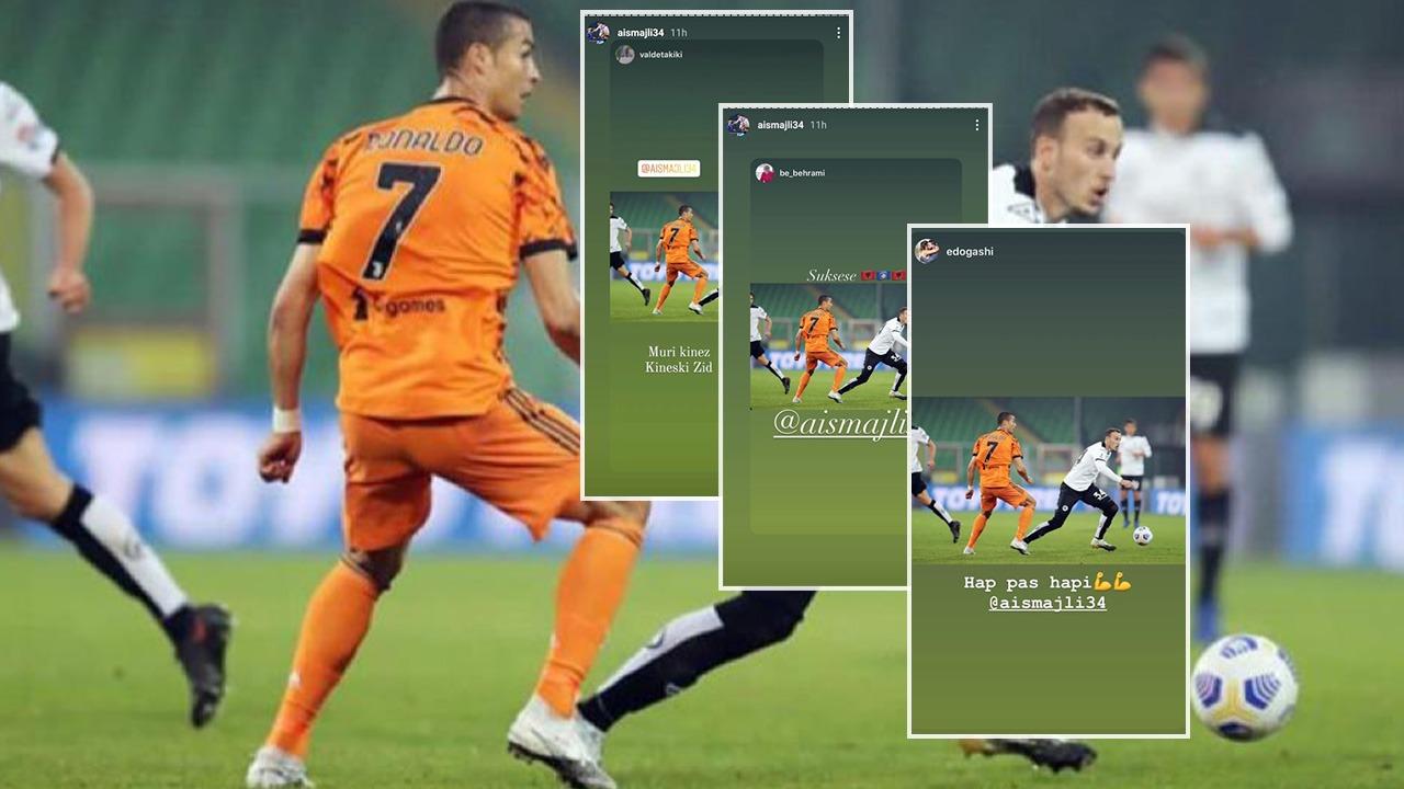 """""""Dikur vetëm e ëndërroje"""", fotoja e Ismajlit me Ronaldon bëhet """"hit"""""""
