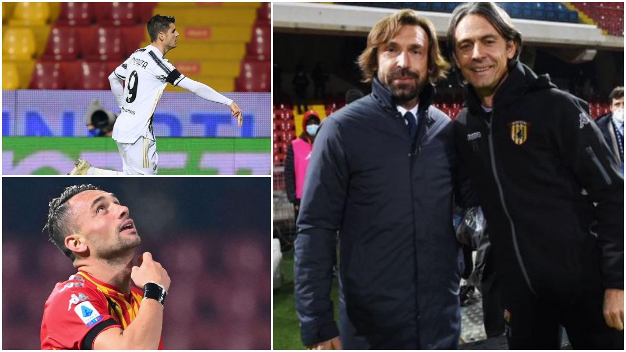 """VIDEO/ """"Shtrigat"""" frenojnë Juventusin, Pippo Inzaghi """"asist"""" Milanit"""