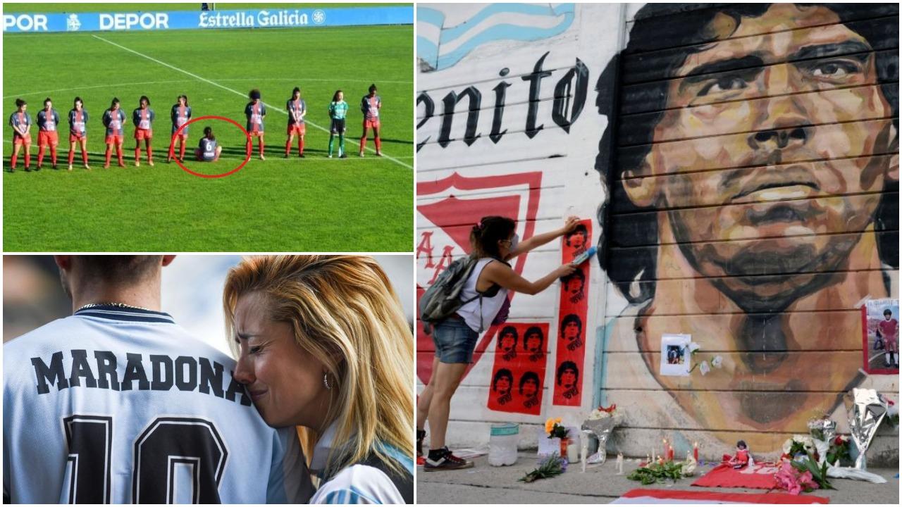Protesta e veçantë, futbollistja spanjolle nuk respekton Maradonen dhe irritohet keq