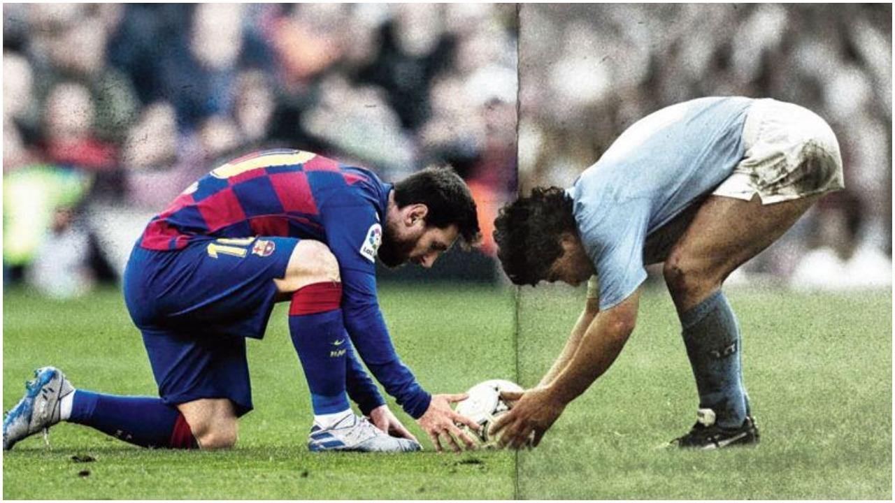 """""""A jeni në terezi, çfarë Messi? Maradona më i madhi, ishte Zoti i futbollit"""""""