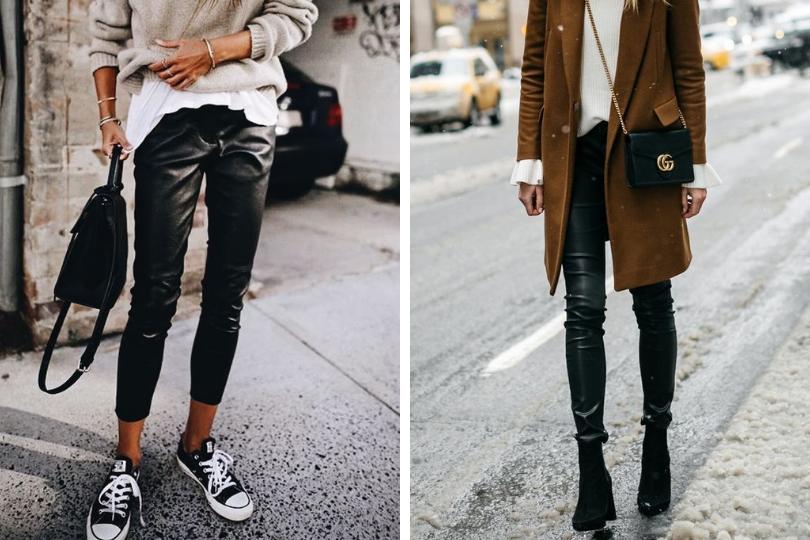 Pantallonat prej lëkure: Modelet që duhet t'i bëni pjesë të garderobës tuaj