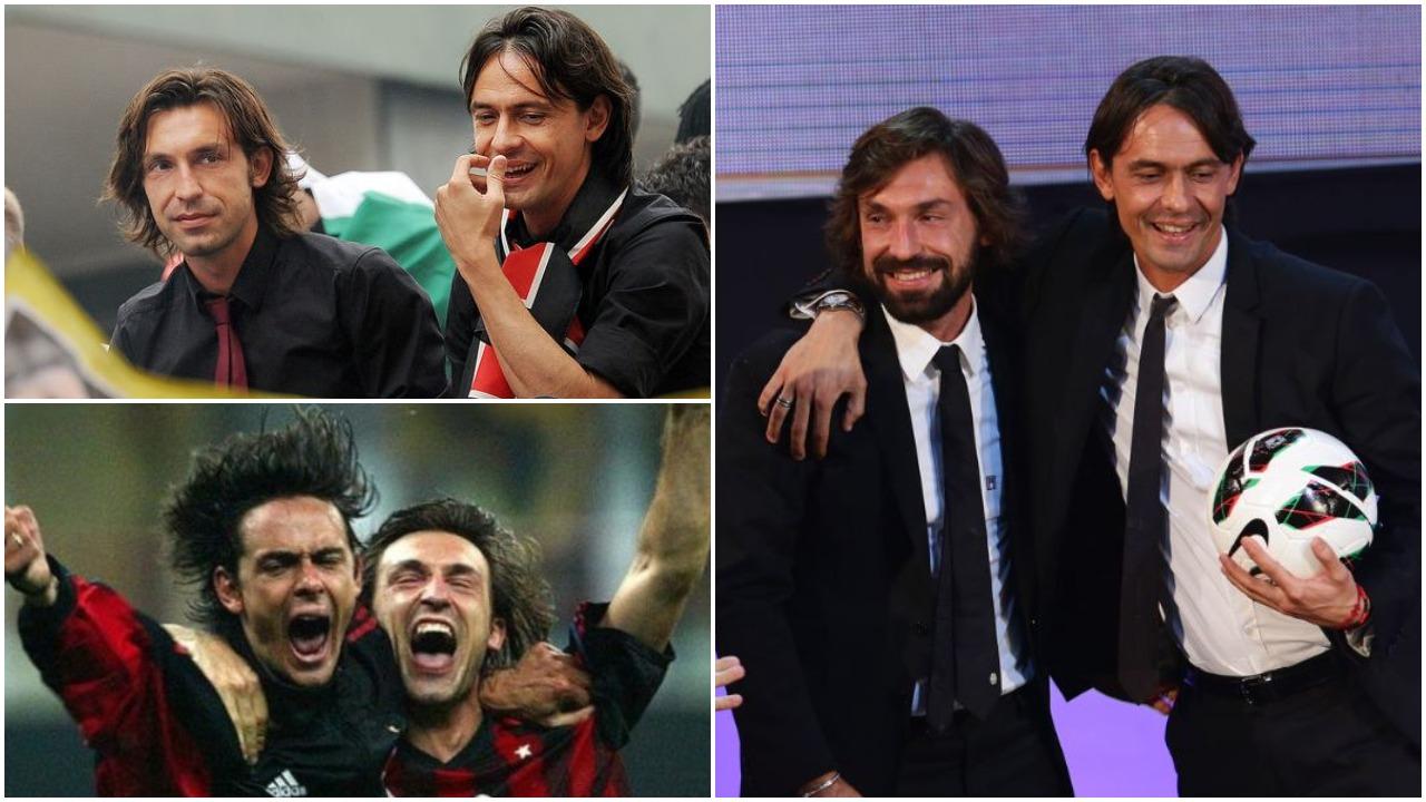 Pirlo: Inzaghi i sëmurë pas futbollit, Maradona ishte Zoti i kësaj loje