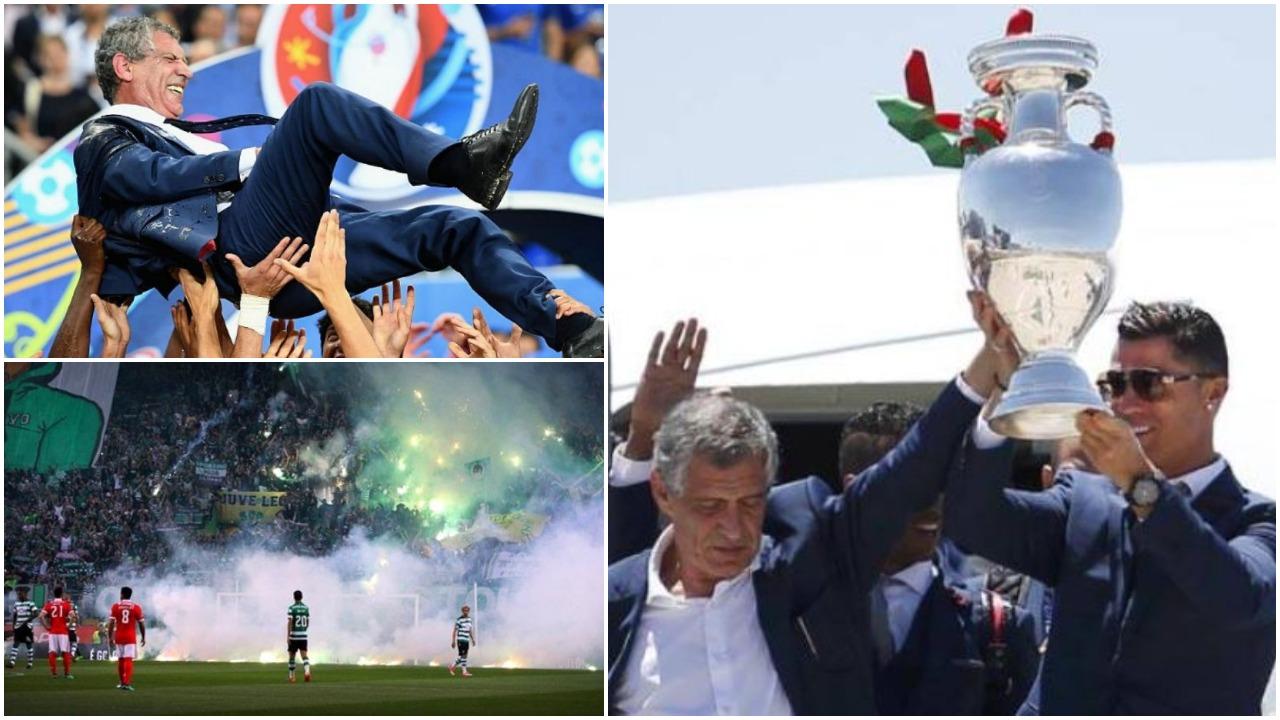 Santos shpall listën e lojtarëve, 50 vite që nuk ndodhte kjo gjë te Portugalia