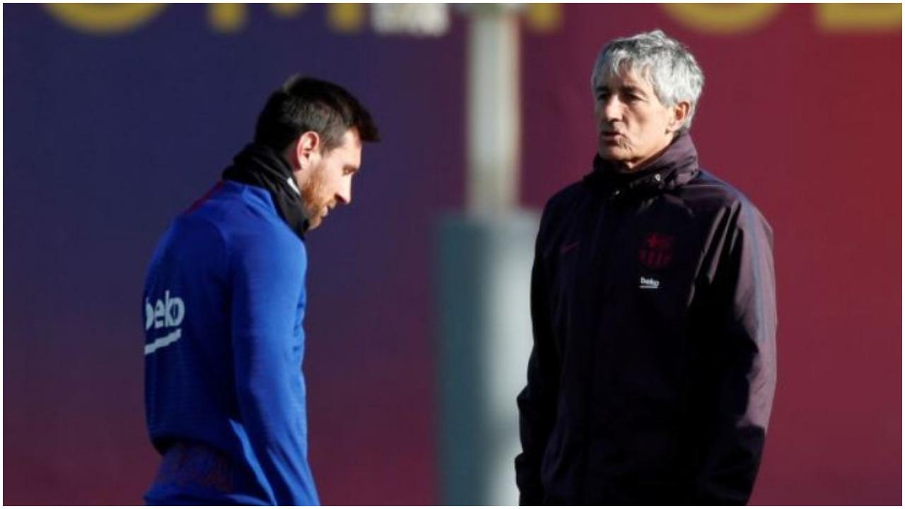 """""""Derën e di ku është, mund të largohesh!"""", zbulohet prapaskena Setien-Messi"""