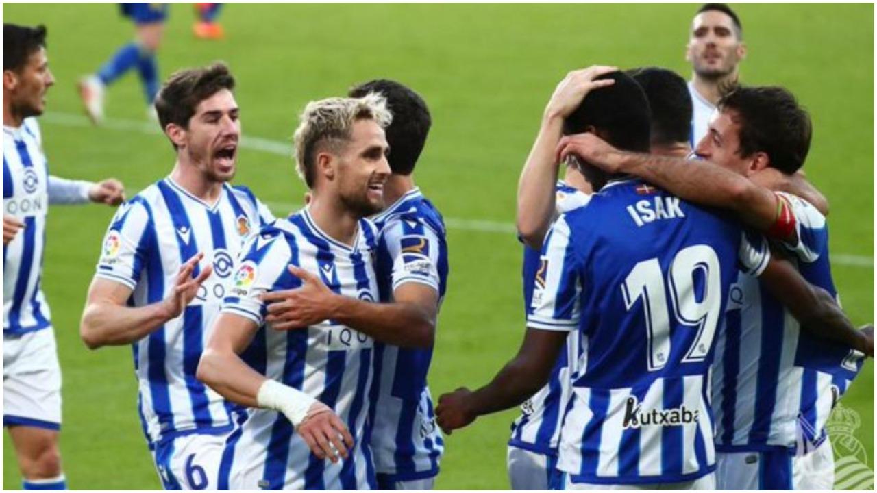 VIDEO/ Asist i Januzajt, Real Sociedad nuk e lëshon kreun në La Liga