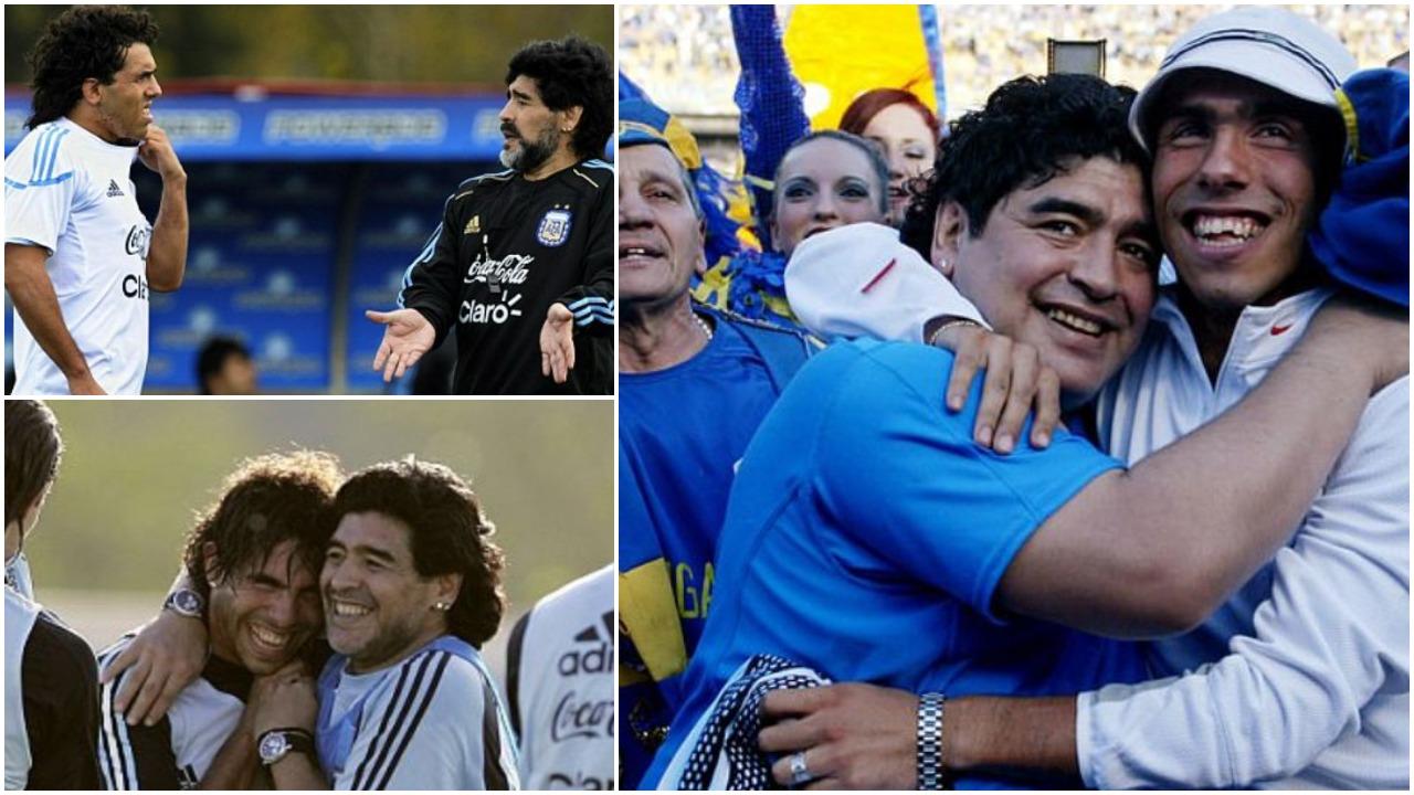 Futbolli në Argjentinë nuk ndalon për Maradonën, tërbohet Carlos Tevez