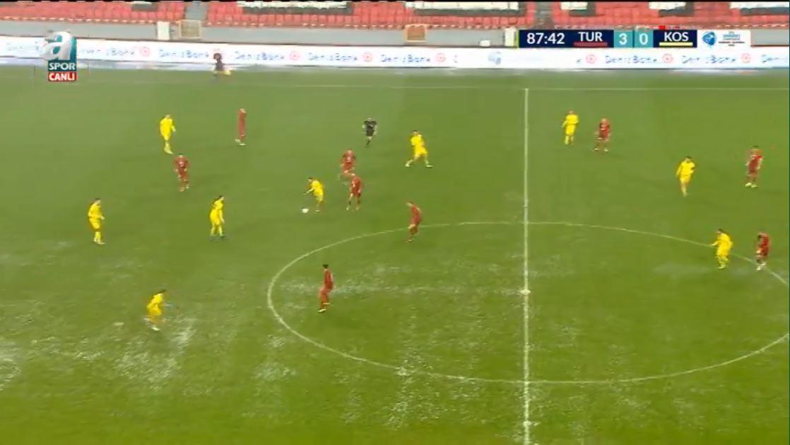 """Turqia shumë e fortë për Kosovën U21, triumfon me """"tris"""""""