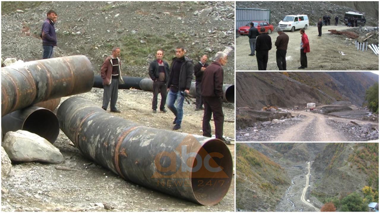 Kostenjë banorët protestojnë kundra ndërtimit të HEC-it, firma ka shkatërruar gjithçka