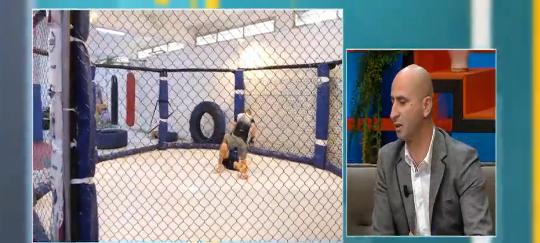 """Presidenti i MMA-së tregon """"të fshehtat"""" e arteve marciale të përziera """"brenda kafazit"""""""