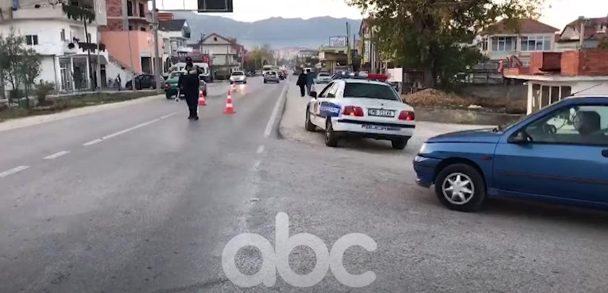 VIDEO/ Aksident në Korçë, automjeti përplas drejtuesin e biçikletës