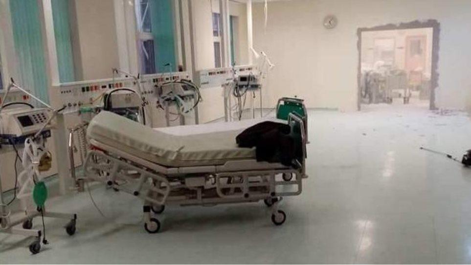 Kaos nga pacientët me Covid në Greqi, muret e spitalit prishen për të ndërtuar reanimacion