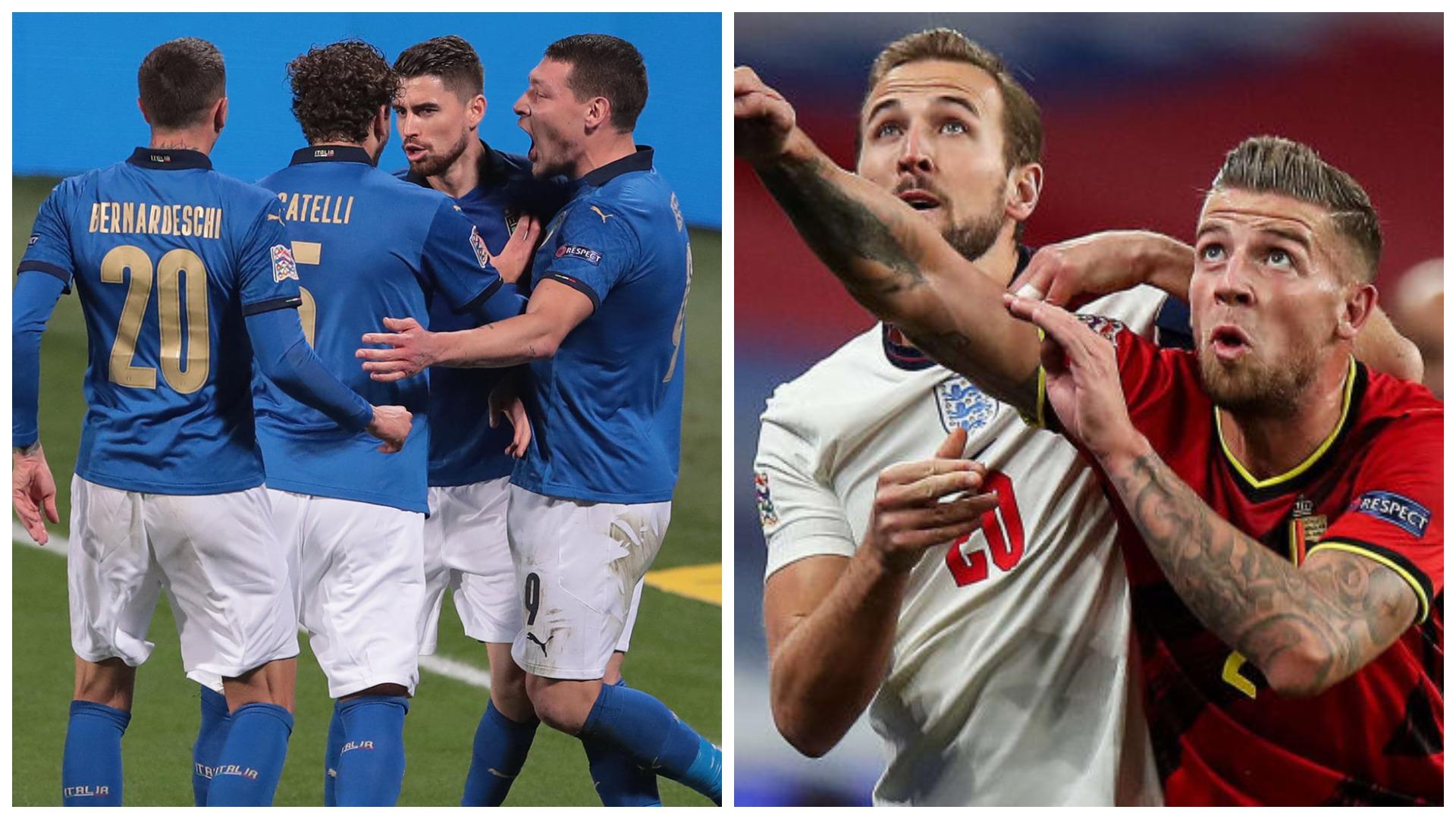 VIDEO/ Anglia kapitullon në Belgjikë, Italinë e nderon Jorginho