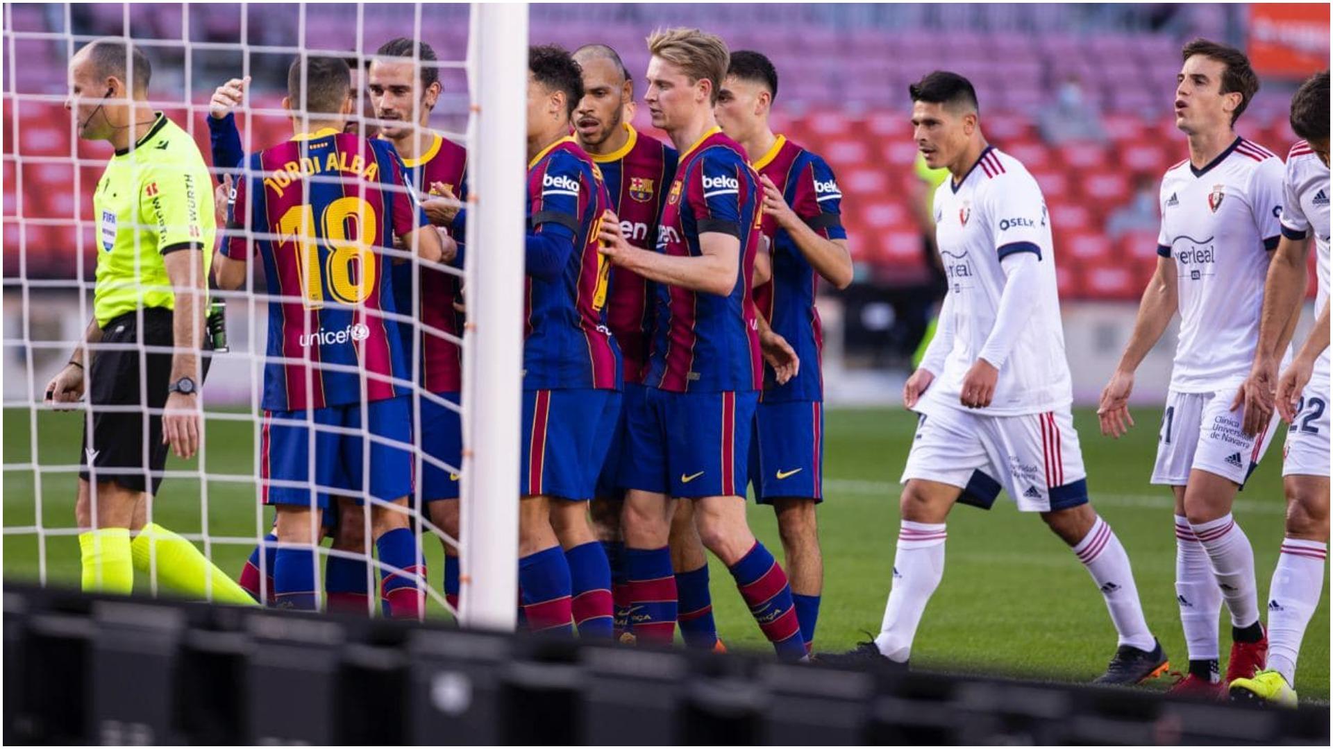 Jo vetëm Erik Garcia nga Premier, Barcelona piketon një latin për mbrojtjen