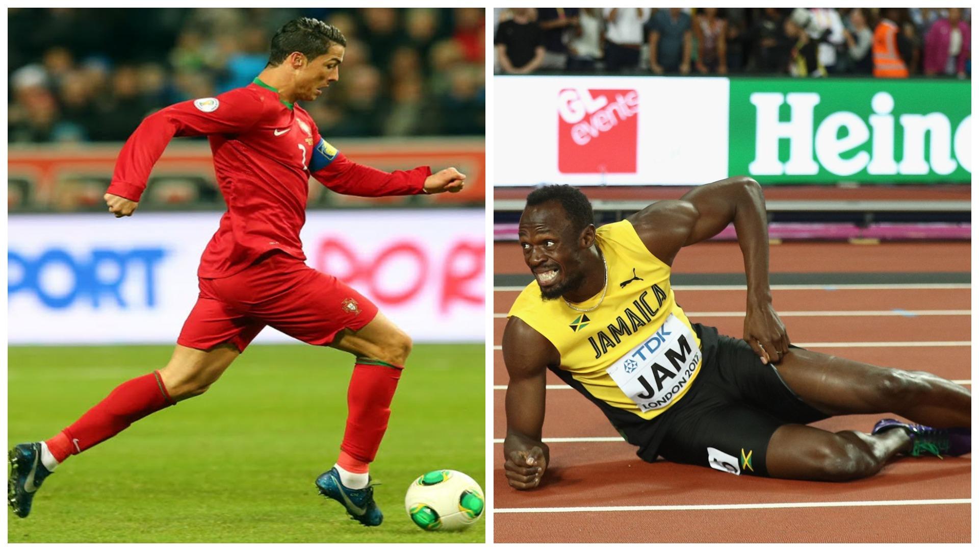 Bolt: Garë shpejtësie me Ronaldon? Do fitonte ai, ka një shkak pse