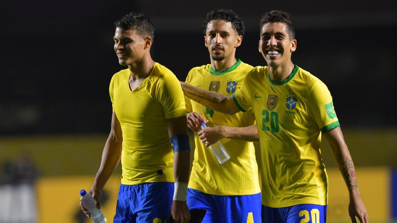 """VIDEO/ Firmino mban në majë Brazilin, super Vidal """"heroi"""" i Kilit"""