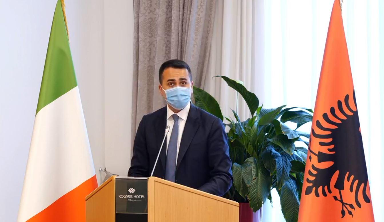 Luigi Di Maio në Tiranë: Korrupsioni është një pengesë për zhvillimin e vendit