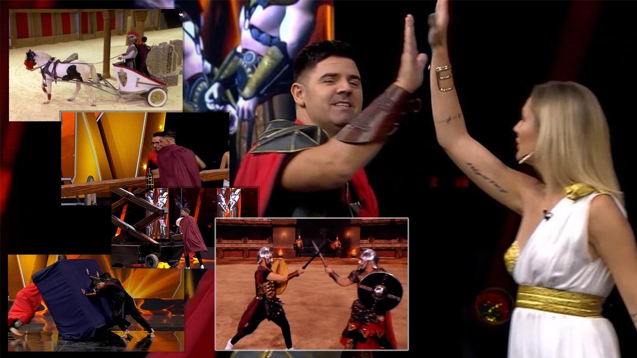Përfundon puntata e parë e 'Gladiatorit', aktorët e njohur kalojnë sfidat dhe fitojnë shumën me Euro